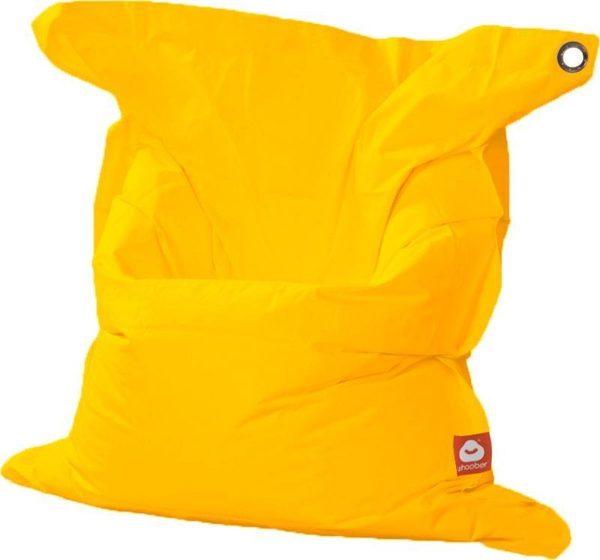 Whoober Rechthoek zitzak St. Tropez XL outdoor geel - Wasbaar - Geschikt voor buiten