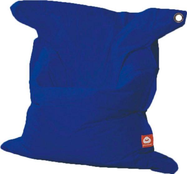 Whoober Rechthoek zitzak St. Tropez XL outdoor kobalt blauw - Wasbaar - Geschikt voor buiten