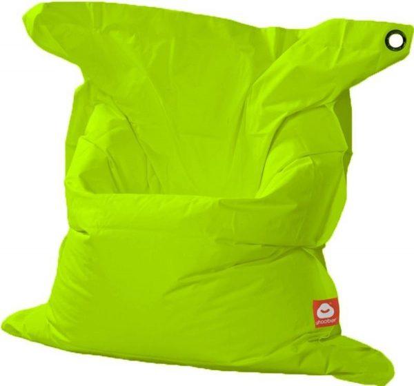 Whoober Rechthoek zitzak St. Tropez XL outdoor limoen groen - Wasbaar - Geschikt voor buiten