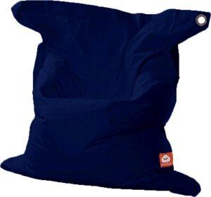 Whoober Rechthoek zitzak St. Tropez XL outdoor marine blauw - Wasbaar - Geschikt voor buiten