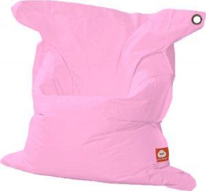 Whoober Rechthoek zitzak St. Tropez XL outdoor roze - Wasbaar - Geschikt voor buiten