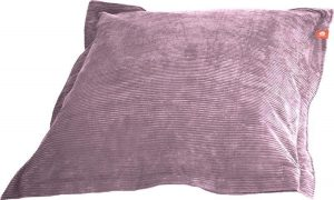 Whoober Rechthoek zitzak St. Tropez XL ribcord paars - Wasbaar - Zacht en comfortabel