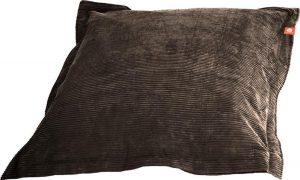Whoober Rechthoek zitzak St. Tropez XL ribcord taupe - Wasbaar - Zacht en comfortabel