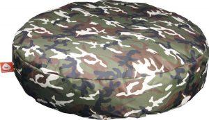 Whoober Ronde Zitzak Ibiza L outdoor camouflage - Wasbaar - Geschikt voor buiten