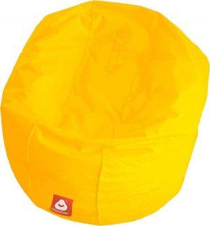 Whoober Ronde Zitzak Ibiza L outdoor geel - Wasbaar - Geschikt voor buiten