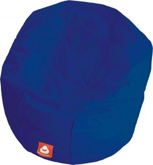 Whoober Ronde Zitzak Ibiza L outdoor kobalt blauw - Wasbaar - Geschikt voor buiten