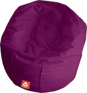 Whoober Ronde Zitzak Ibiza L outdoor paars - Wasbaar - Geschikt voor buiten