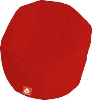 Whoober Ronde Zitzak Ibiza L outdoor rood - Wasbaar - Geschikt voor buiten