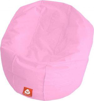 Whoober Ronde Zitzak Ibiza L outdoor roze - Wasbaar - Geschikt voor buiten