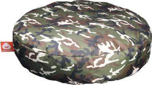 Whoober Ronde Zitzak Ibiza M outdoor camouflage - Wasbaar - Geschikt voor buiten