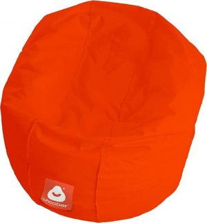 Whoober Ronde Zitzak Ibiza M outdoor donker oranje - Wasbaar - Geschikt voor buiten