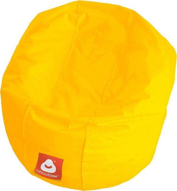 Whoober Ronde Zitzak Ibiza M outdoor geel - Wasbaar - Geschikt voor buiten