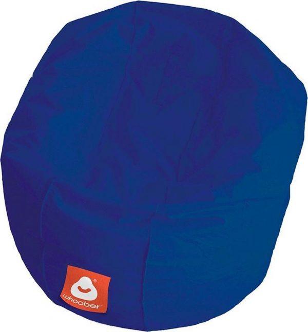 Whoober Ronde Zitzak Ibiza M outdoor kobalt blauw - Wasbaar - Geschikt voor buiten