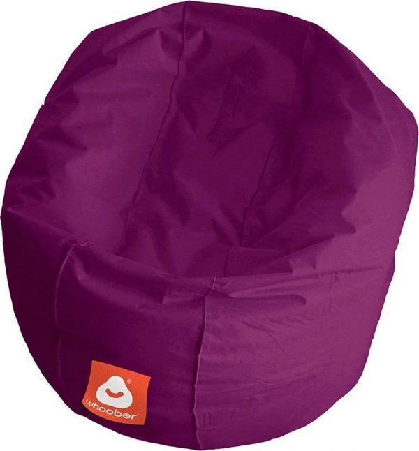 Whoober Ronde Zitzak Ibiza M outdoor paars - Wasbaar - Geschikt voor buiten