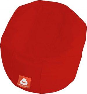 Whoober Ronde Zitzak Ibiza M outdoor rood - Wasbaar - Geschikt voor buiten