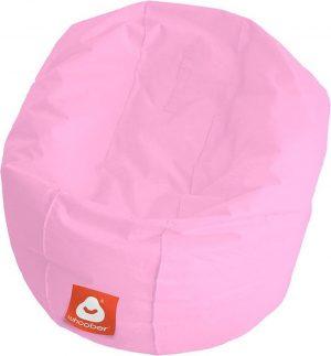 Whoober Ronde Zitzak Ibiza M outdoor roze - Wasbaar - Geschikt voor buiten