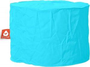 Whoober Zitzak poef Rhodos outdoor aqua blauw - Wasbaar - Geschikt voor buiten