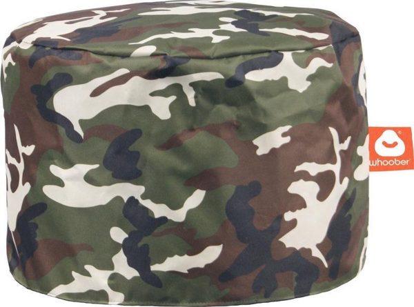 Whoober Zitzak poef Rhodos outdoor camouflage - Wasbaar - Geschikt voor buiten