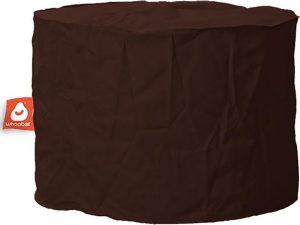 Whoober Zitzak poef Rhodos outdoor donker bruin - Wasbaar - Geschikt voor buiten