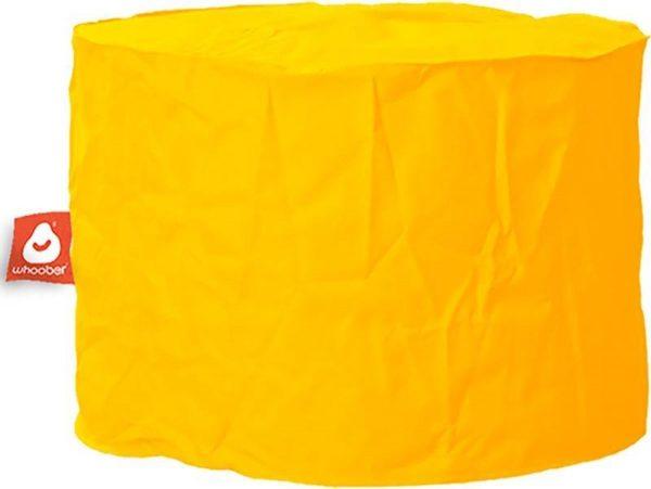 Whoober Zitzak poef Rhodos outdoor geel - Wasbaar - Geschikt voor buiten