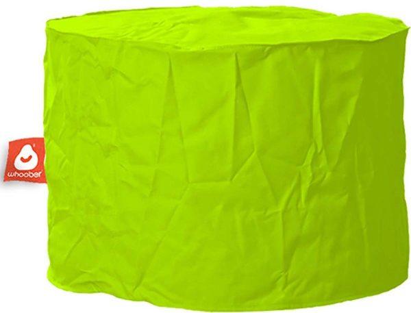 Whoober Zitzak poef Rhodos outdoor limoen groen - Wasbaar - Geschikt voor buiten