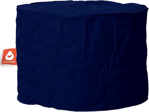 Whoober Zitzak poef Rhodos outdoor marine blauw - Wasbaar - Geschikt voor buiten