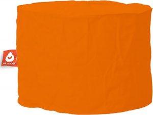 Whoober Zitzak poef Rhodos outdoor oranje - Wasbaar - Geschikt voor buiten