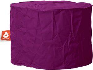 Whoober Zitzak poef Rhodos outdoor paars - Wasbaar - Geschikt voor buiten