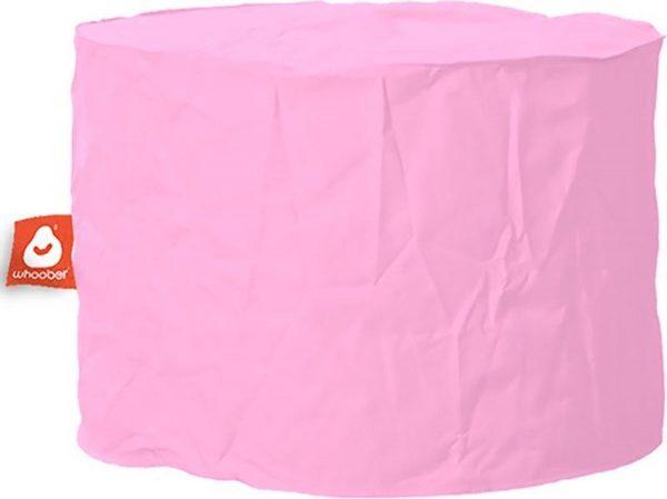 Whoober Zitzak poef Rhodos outdoor roze - Wasbaar - Geschikt voor buiten