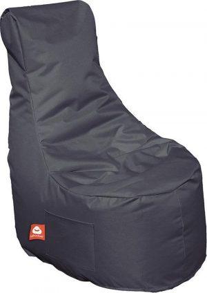 Whoober Zitzak stoel Nice outdoor antraciet - Wasbaar - Geschikt voor buiten