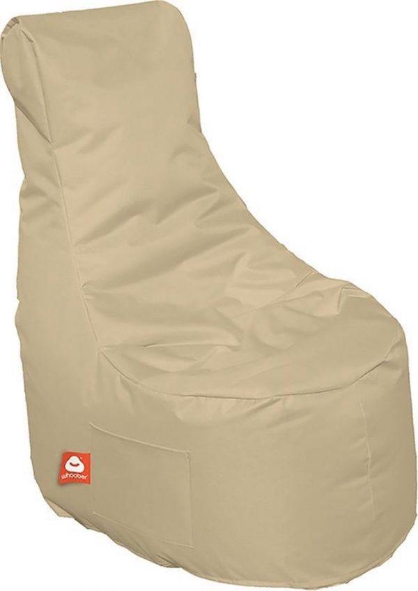 Whoober Zitzak stoel Nice outdoor beige - Wasbaar - Geschikt voor buiten