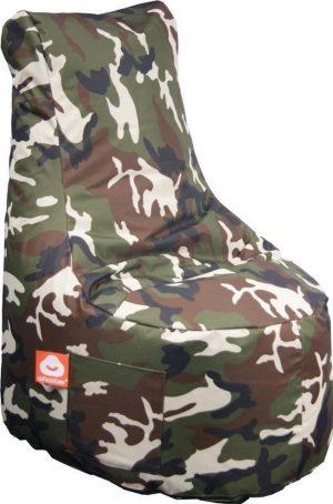 Whoober Zitzak stoel Nice outdoor camouflage - Wasbaar - Geschikt voor buiten