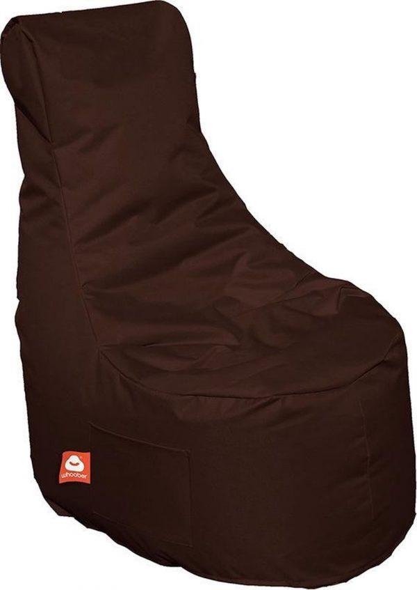 Whoober Zitzak stoel Nice outdoor donker bruin - Wasbaar - Geschikt voor buiten