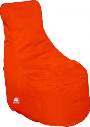 Whoober Zitzak stoel Nice outdoor donker oranje - Wasbaar - Geschikt voor buiten