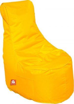 Whoober Zitzak stoel Nice outdoor geel - Wasbaar - Geschikt voor buiten