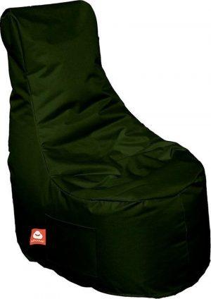 Whoober Zitzak stoel Nice outdoor leger groen - Wasbaar - Geschikt voor buiten