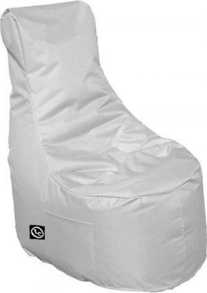 Whoober Zitzak stoel Nice outdoor licht grijs - Wasbaar - Geschikt voor buiten