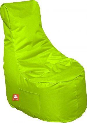Whoober Zitzak stoel Nice outdoor limoen groen - Wasbaar - Geschikt voor buiten