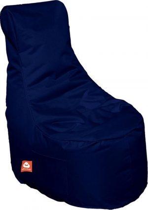 Whoober Zitzak stoel Nice outdoor marine blauw - Wasbaar - Geschikt voor buiten