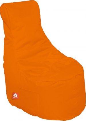 Whoober Zitzak stoel Nice outdoor oranje - Wasbaar - Geschikt voor buiten