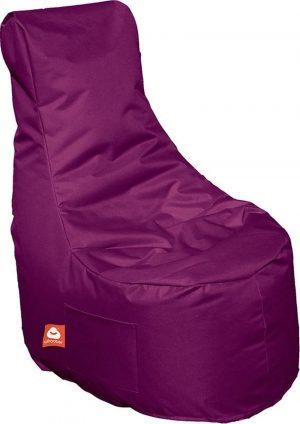 Whoober Zitzak stoel Nice outdoor paars - Wasbaar - Geschikt voor buiten