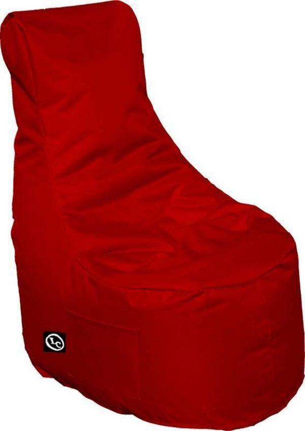 Whoober Zitzak stoel Nice outdoor rood - Wasbaar - Geschikt voor buiten
