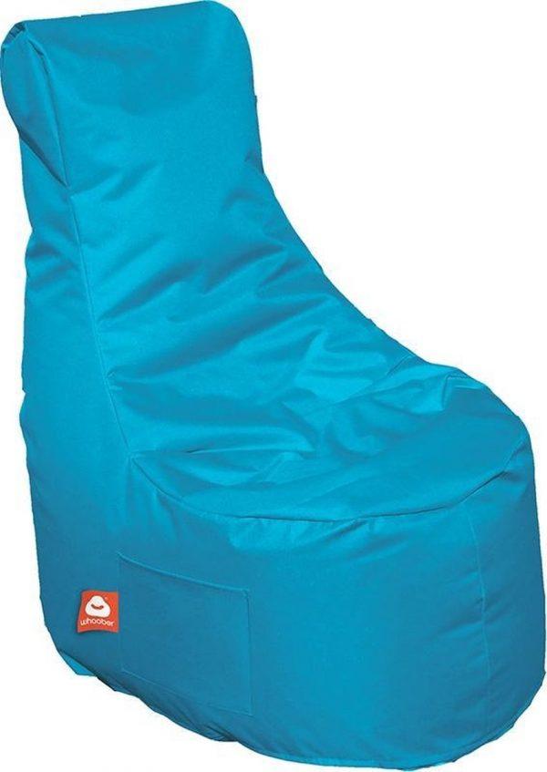 Whoober Zitzak stoel Nice outdoor turquoise - Wasbaar - Geschikt voor buiten