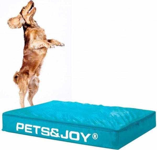 Dog Bed Large Aqua