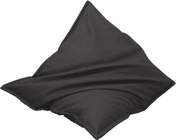 Drop & Sit Leatherlook Zitzak -Antraciet - 130 x 150 cm - Voor binnen en buiten
