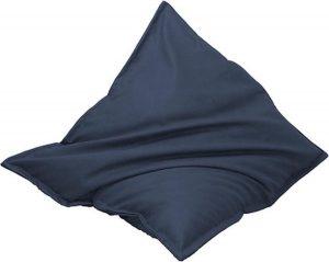 Drop & Sit Leatherlook Zitzak - Blauw - 100 x 150 cm - Voor binnen en buiten