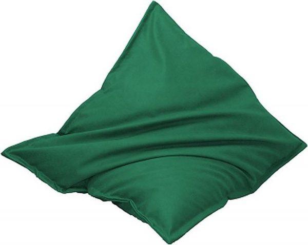 Drop & Sit Leatherlook Zitzak - Groen - 100 x 150 cm - Voor binnen en buiten