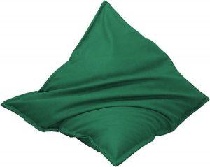 Drop & Sit Leatherlook Zitzak - Groen - 115 x 150 cm - Voor binnen en buiten