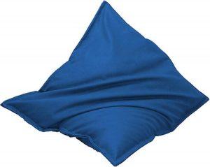 Drop & Sit Leatherlook Zitzak - Kobaltblauw - 115 x 150 cm - Voor binnen en buiten
