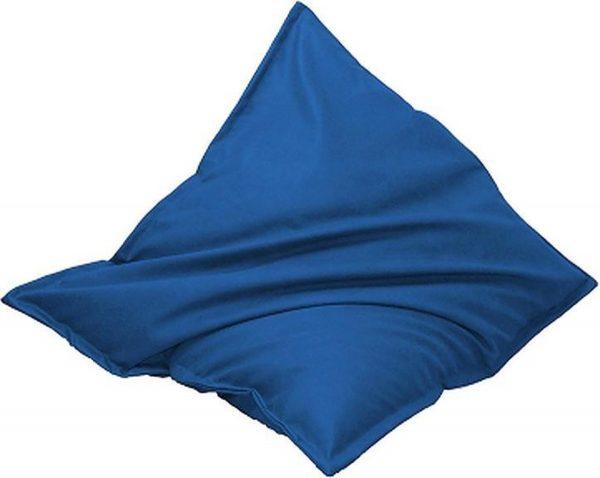 Drop & Sit Leatherlook Zitzak - Kobaltblauw - 130 x 150 cm - Voor binnen en buiten